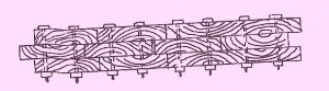 sectional plan of a wakefield pile