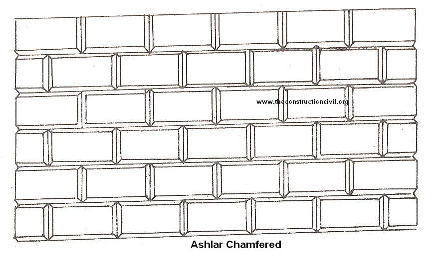 Ashlar Chamfered Masonry