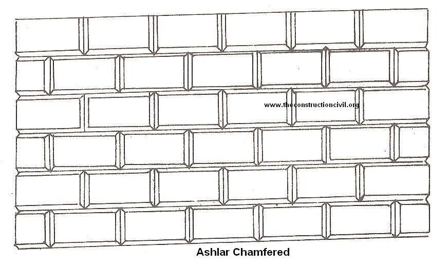 Ashlar Chamfered Masonry