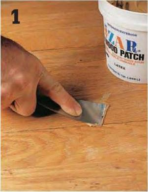 How to patch scratches in hardwood flooring