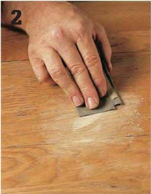 How to patch scratches in hardwood floors