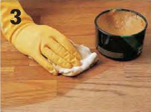 Waxing Polishing Hardwood Floors