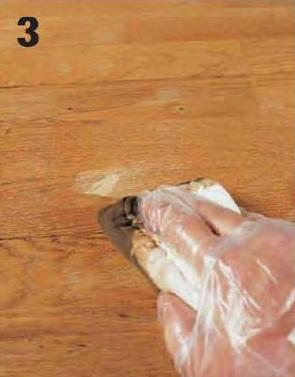 How to patch scratches in wooden flooring