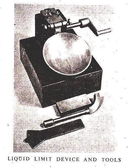 Liquid Limit Apparatus