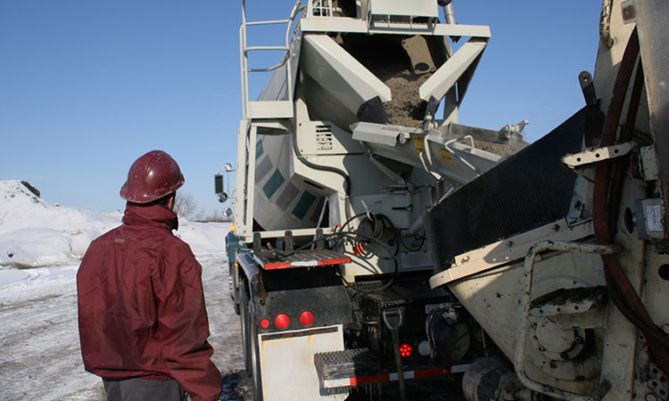 Cold weather concreting concreting in cold weather the for Concrete freezing